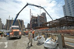 Die Baustelle Hudson Yards (Foto: Metropolitan Transportation Authority/Patrick Cashin)