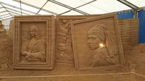 sandskulpturen festival auf usedom. Black Bedroom Furniture Sets. Home Design Ideas