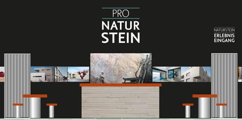 Pro Naturstein naturstein auf swissbau 2016 in basel